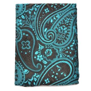 Купить платок с бирюзовым узором