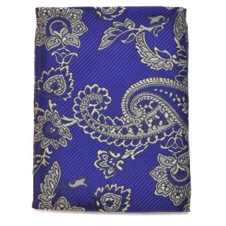 Купить синий нагрудный платок