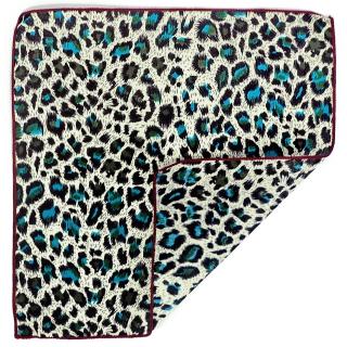 Леопардовый платок в карман пиджака