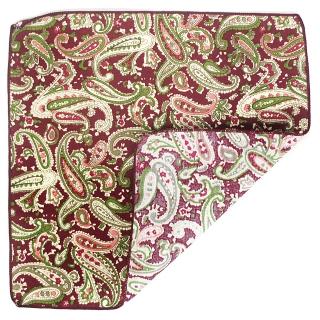Бордовый платок огуречный