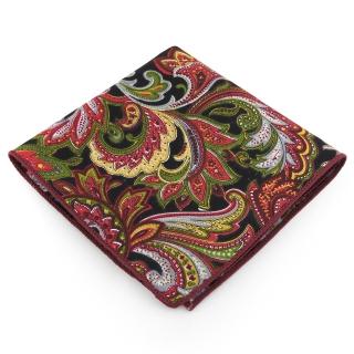 Нагрудный платок #067 (хохлома)