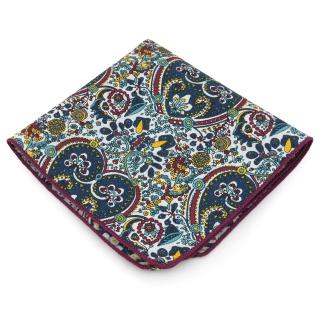 Узорчатый нагрудный платок