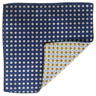Купить цветочный платок для пиджака
