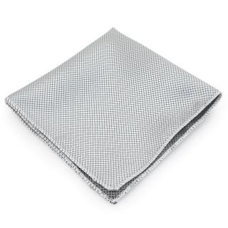 Нагрудный платок #078 (серебро)