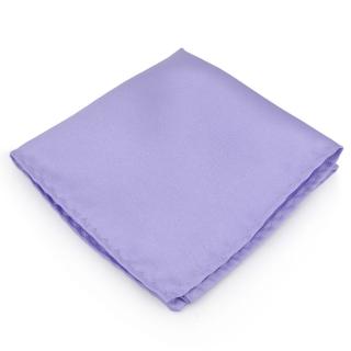 Сиреневый нагрудный платок