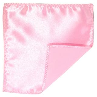 Однотонный розовый платок