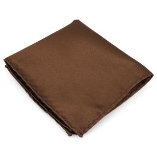 Нагрудный платок #087 (коричневый)