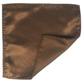 Купить коричневый нагрудный платок