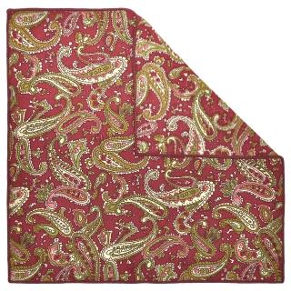 Купить нагрудный платок с узором пейсли