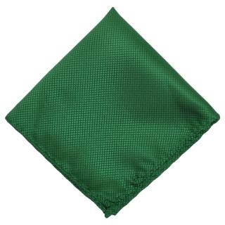 Нагрудный платок изумрудного цвета