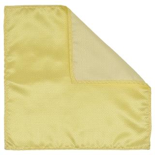 Купить нагрудный платок лимонного цвета