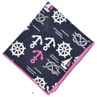 Нагрудный платок #113 (морской)