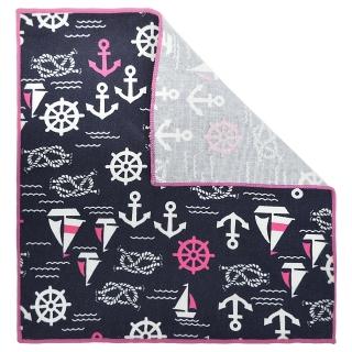 Купить нагрудный платок с морским узором
