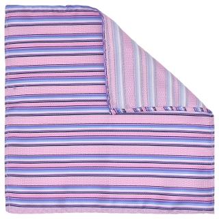 Купить нагрудный платок розового цвета