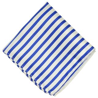 Нагрудный платок #106 (синие полоски)