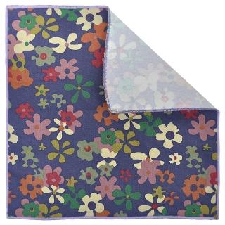 Купить нагрудный платочек с цветами