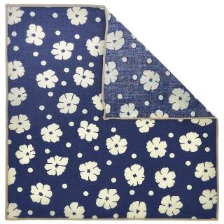 Купить нагрудный платок с цветочным принтом