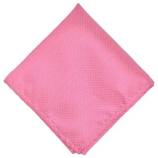 Нагрудный платок ярко-розового цвета