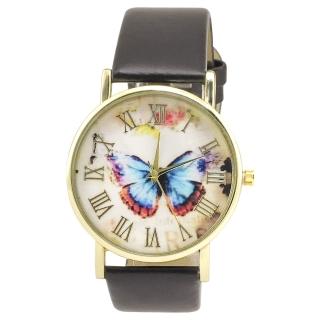 Наручные часы #037 (бабочка)