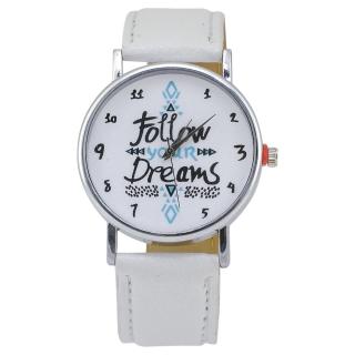 Наручные часы #042 (белые)