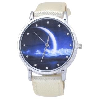 Наручные часы с изображением луны
