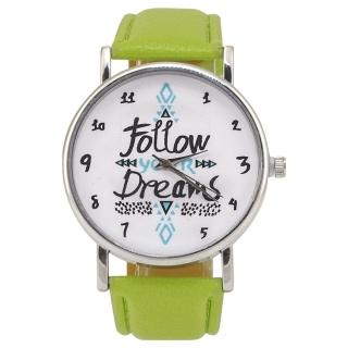 Наручные часы #044 (зеленые)