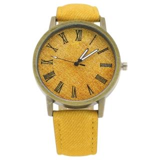 Наручные часы горчичного цвета