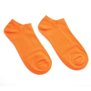 Оранжевые однотонные носки на лето
