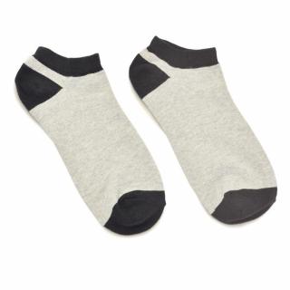 Носки #058 серо-черные
