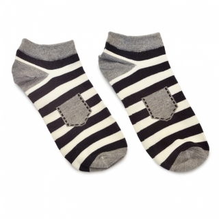 Носки #100 серые (карман)