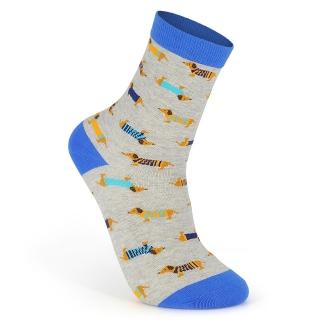 Купить серые носки с собачками