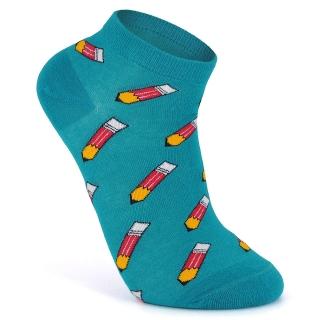 Купить бирюзовые летние носки
