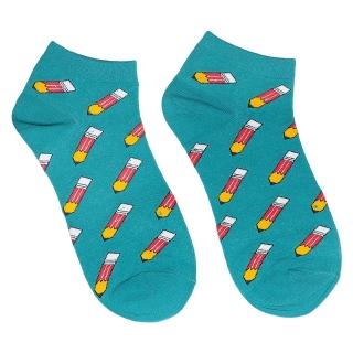 Короткие летние носки с карандашами