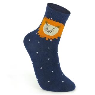 Купить темно-синие носки со львом