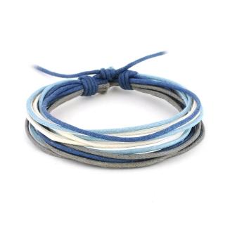 Хлопковый браслет из нитей