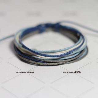 Купить плетеный браслет из нитей