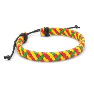 Плетеный браслет #028