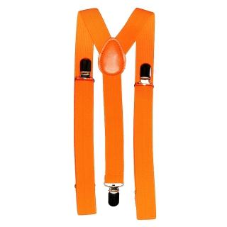 Купить взрослые оранжевые подтяжки