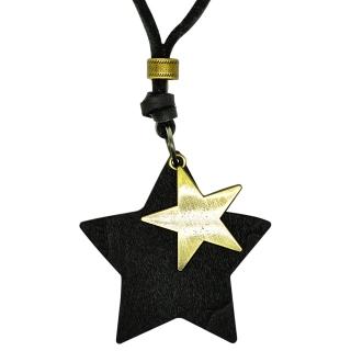 Подвеска #001 (звезда черная)
