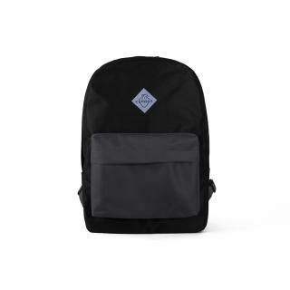 Рюкзак #002 (черно-серый)