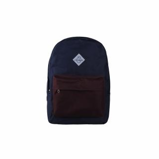 Рюкзак #009 (сине-бордовый)
