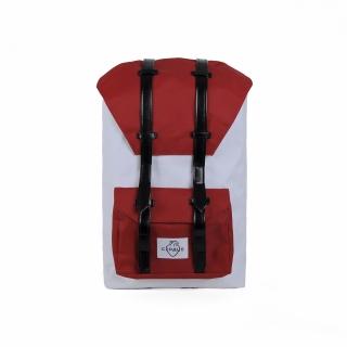 Рюкзак #012 (красно-белый)