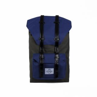 Рюкзак #015 (серо-синий)