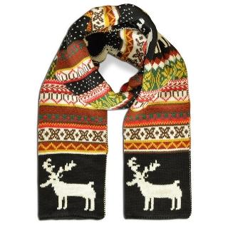 Купить скандинавский шерстяной шарф