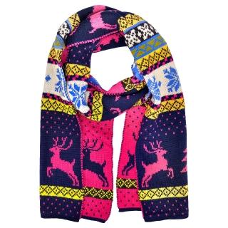 Купить шарф с оленями
