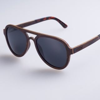 Солнцезащитные очки #002 (дерево)