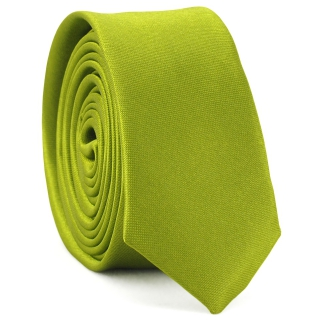 Супер узкий галстук #158 (зеленый)