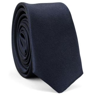 Супер узкий галстук #159 (синий)