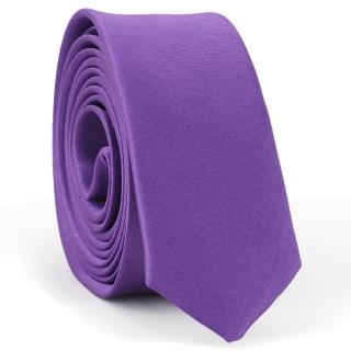 Супер узкий галстук #167 (фиолетовый)