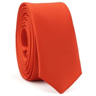 Супер узкий галстук #170 (красный)